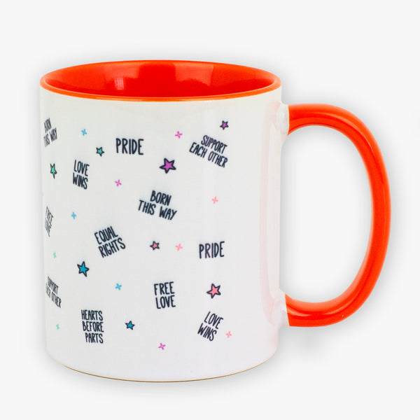 Pride Orange Mug - To Home From London