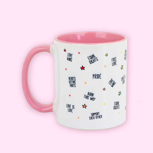 Pride Pink Mug - To Home From London
