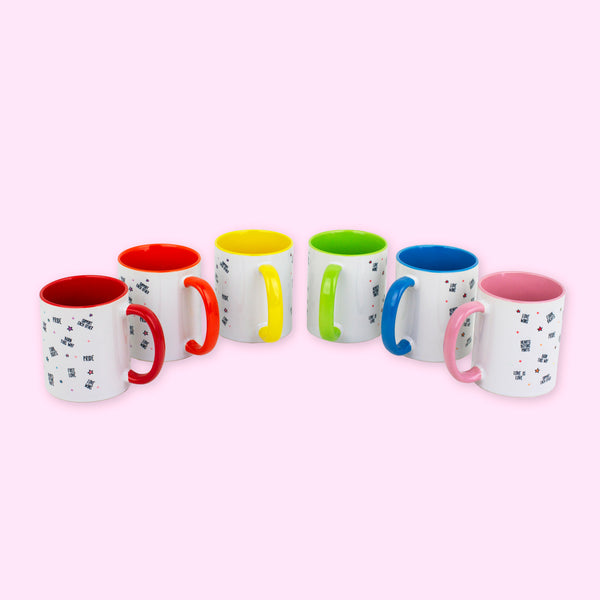 Pride Rainbow Mugs - To Home From London