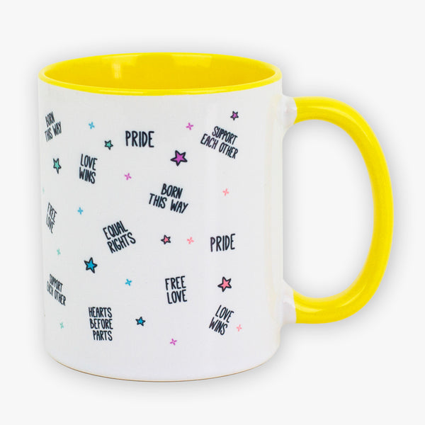 Pride Yellow Mug - To Home From London