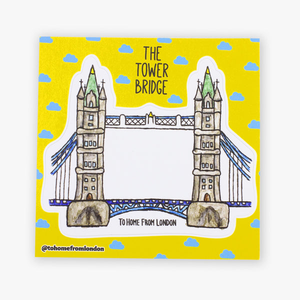 Tower Bridge Sticker - To Home From London