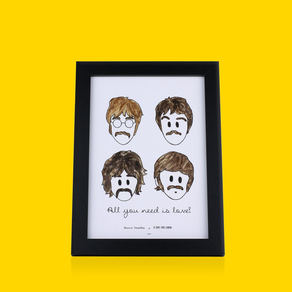 Beatles Print - To Home From London