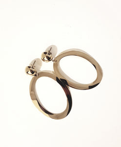 Earrings - statement ovaal