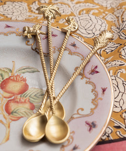 Lola Latte Spoons set of 4 - gold