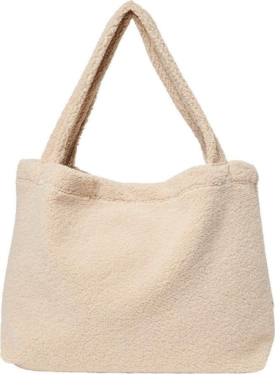 Teddy mom bag - beige