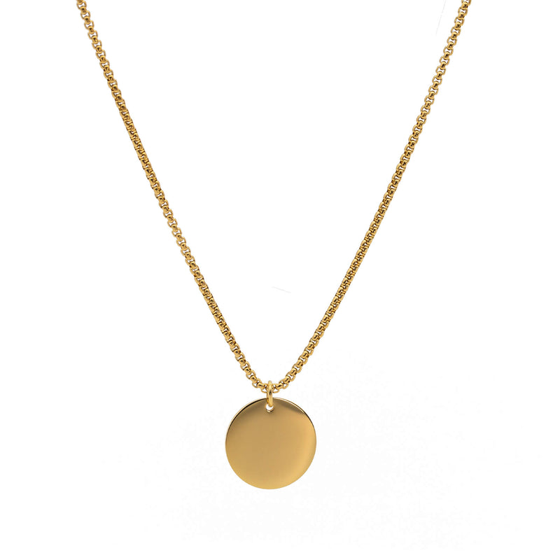 Coin Necklace | Gold