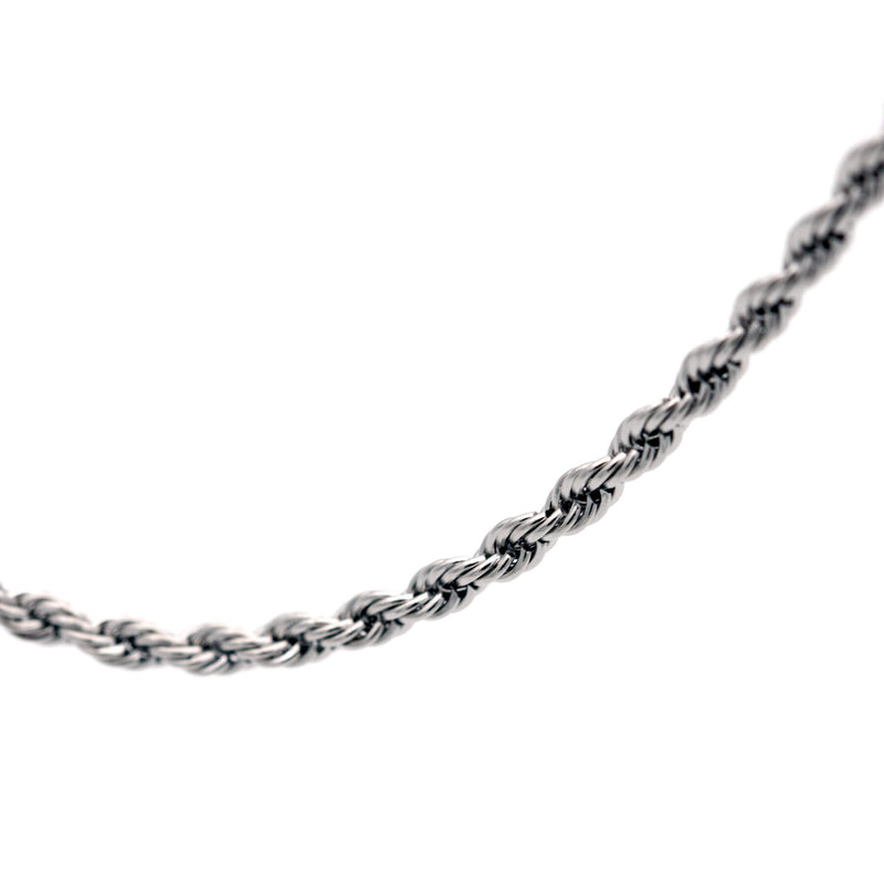 Twist Necklace 55 to 3 | Silver