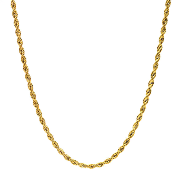 Twist Necklace 60 to 3 | Gold