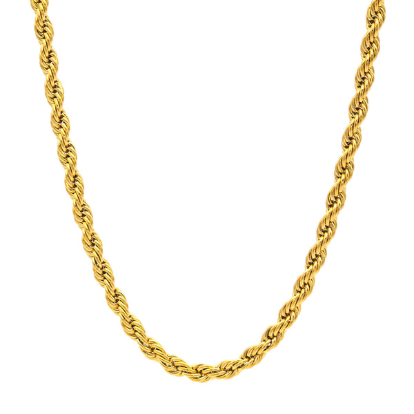 Twist Necklace 45 to 5 | Gold