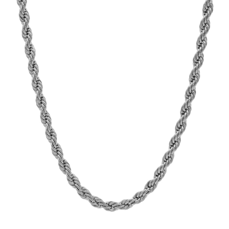 Twist Necklace 45 to 5 | Silver