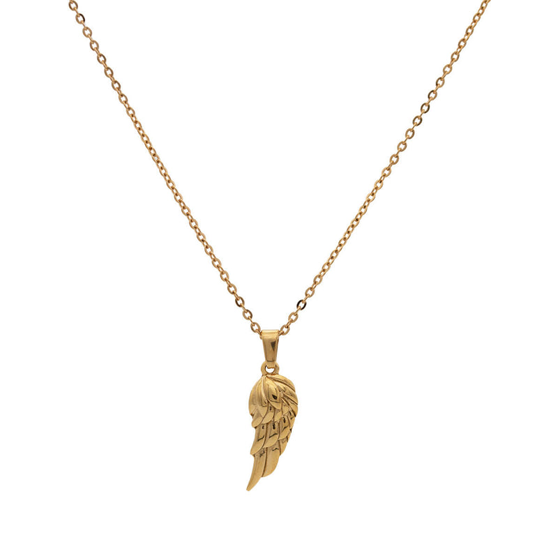 Wing Necklace | Gold