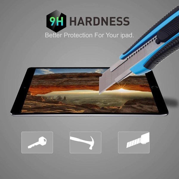 Tempered Glass For Apple iPad Air 3 2 1 Mini 5 4 2019 Screen Protector For iPad Pro 9.7 10.5 11 2017 2018 Tablet Protective Film