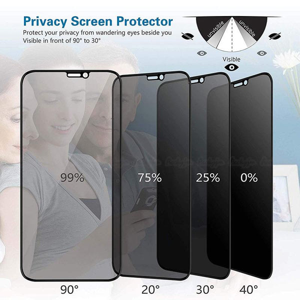 9H Glare Peeping Anti Spy Protective Glass on the For iPhone 6 7 8 X XR XS 11 Pro Max screen protector For iPhone (2PCS/3PCS/4PCS)