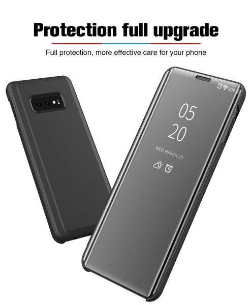 Luxury Flip Protection Full Screen Window Cases For Samsung S10/S10 PLUS/S10e