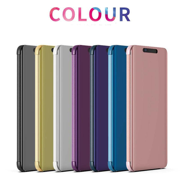 Huawei P30 P30 Pro P30 Lite Case Cover Smart Flip Clear View Leather Cover Case Stand Mirror Cover