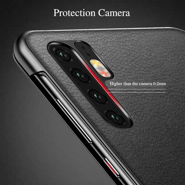 Luxury Smart View Flip Touch Leather Case for Huawei P30/ P30pro/P30 Lite