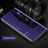 2020 New Arrival!!!Luxury Plating Mirror Flip Protection Phone Case For Samsung Galaxy S10/S9/Note10/A70/A50