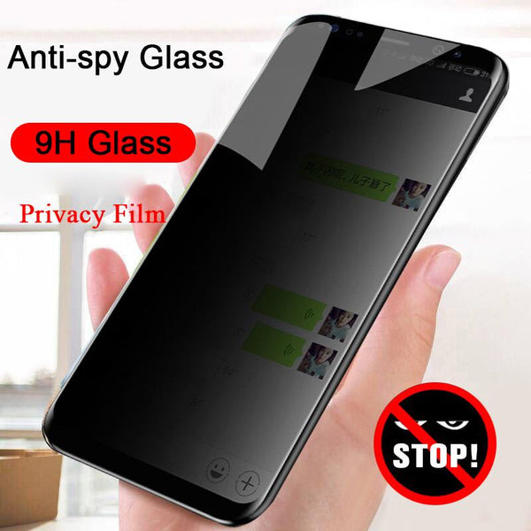 3D Curved Anti-spy Tempered Glass for Samsung Note 10 9 8 Privacy Screen Protector (2PCS/3PCS/4PCS)