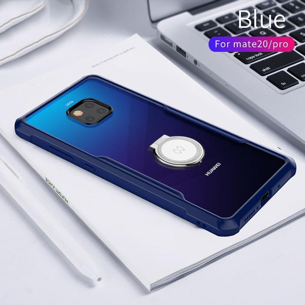 Shockproof Phone Case For Huawei Mate 20 Pro With Airbags Protective business colorful Bumper Beetle