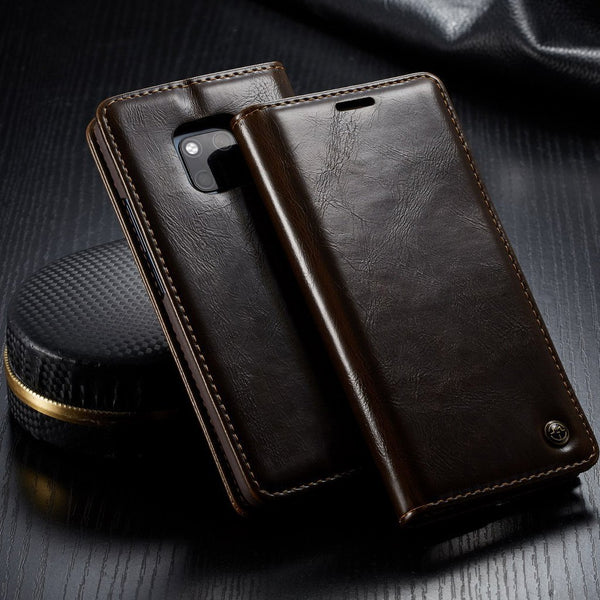 CaseMe Leather flip phone cover all-inclusive case for Huawei mate 20 pro