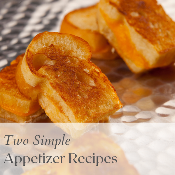Two Simple Appetizer Recipes From My Early Catering Days