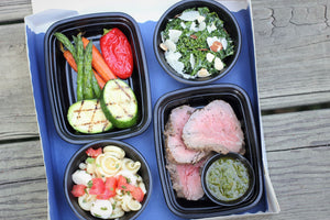 Beef Tenderloin with Salsa Verde Picnic Boxes