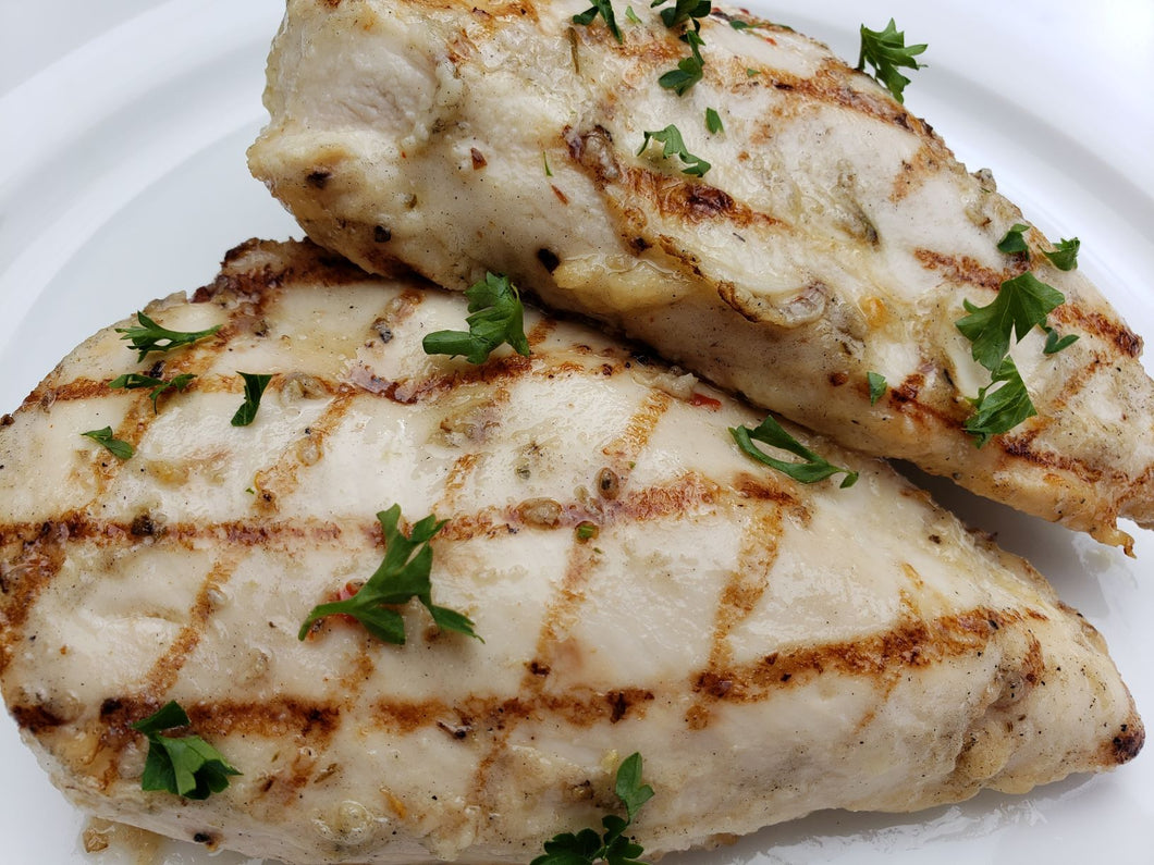 Marinated and Grilled Chicken Breast- 2 servings