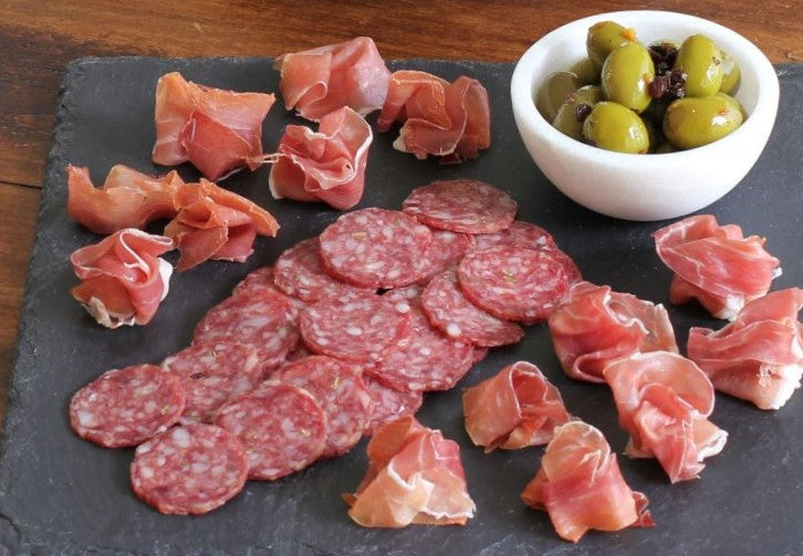 Charcuterie and Olives