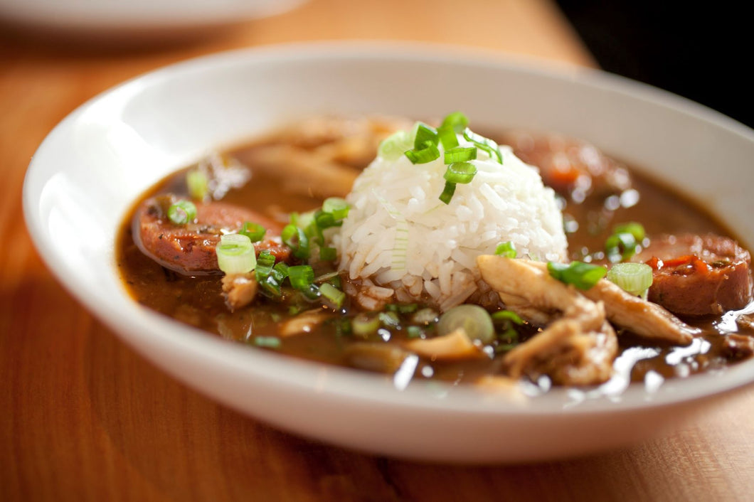 Friday February 12th - Comfort Special - Creole Gumbo with Chicken, Sausage, and Shrimp