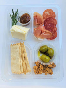 Individual Cheese & Charcuterie Boxes