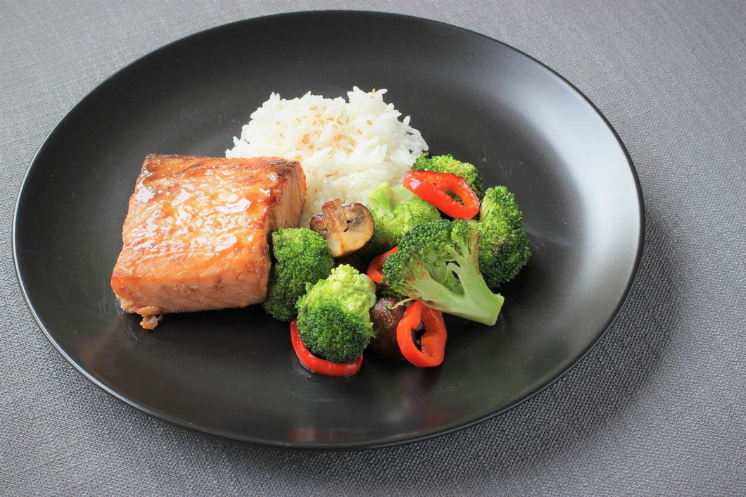 Thursday August 6: Miso-Glazed Salmon