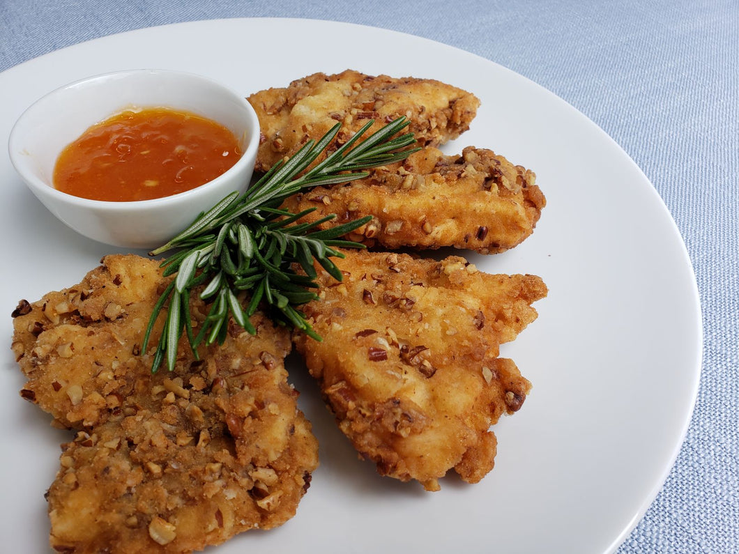 Wednesday September 16: Pecan Crusted Chicken with Apricot Ginger Sauce