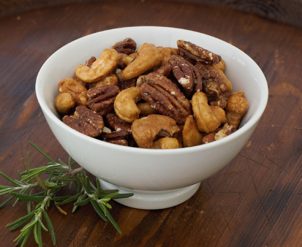 Roasted Rosemary Bar Nuts