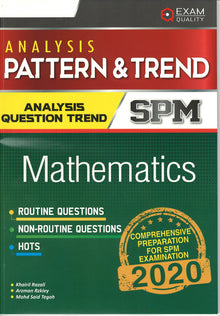 Mathematics (English Version) - Analisis Pattern & Trend 2020 by EXAM QUALITY