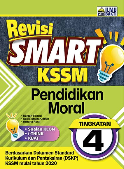 Revisi Smart KSSM Pendidikan Moral (Form 4)