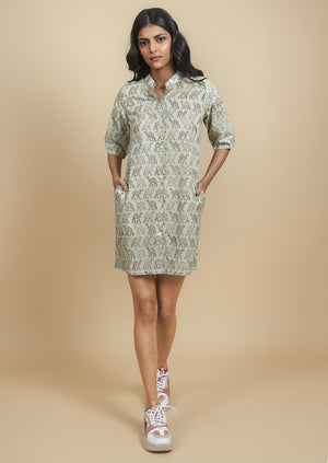 Load image into Gallery viewer, Dune Shirt Dress
