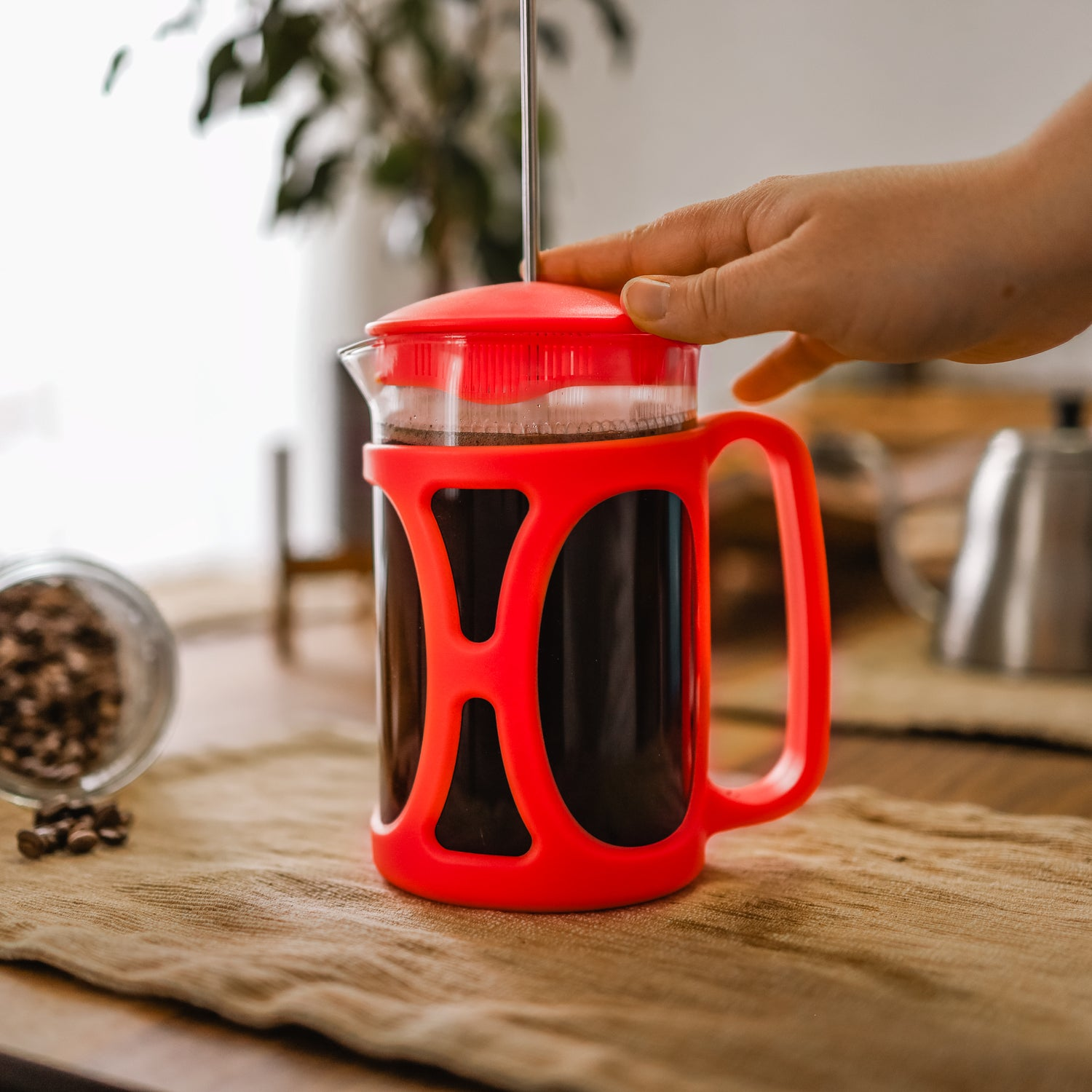 Accessoires - French Press 800ml Rouge