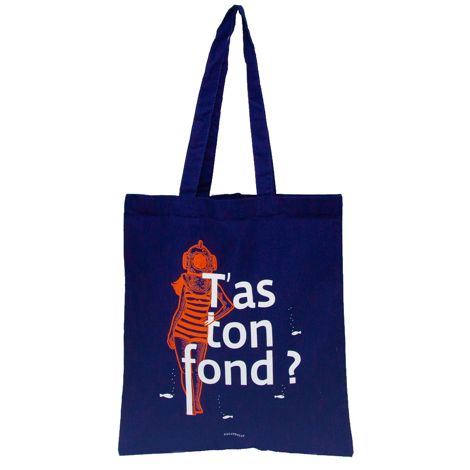 TOTE BAG - T'AS TON FOND ?