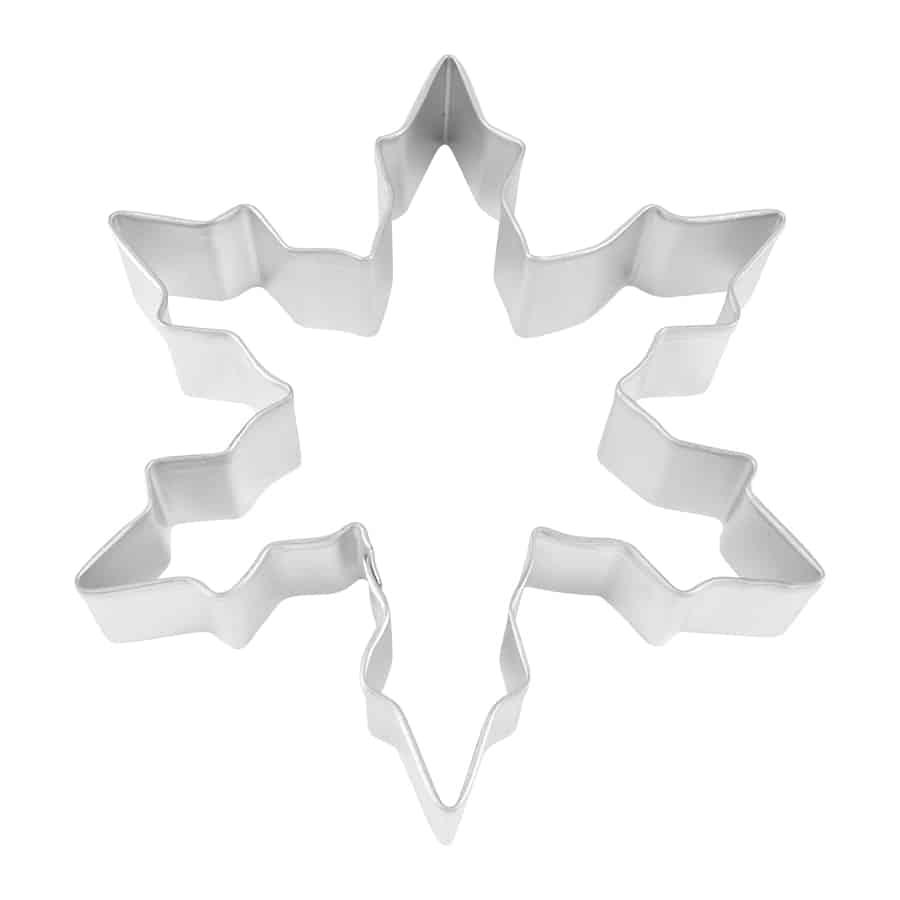 Cookie Cutter, Narrow Snowflake - 5
