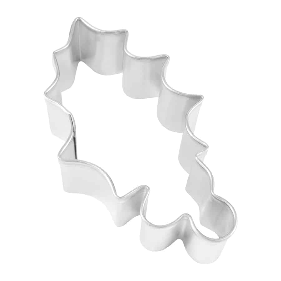 Cookie Cutter, Holly Leaf - 3.25