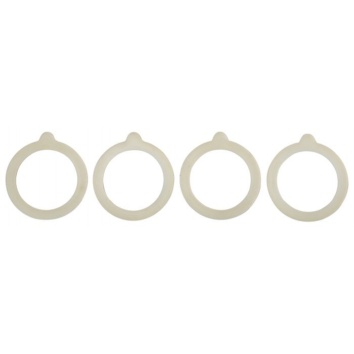 Silicone Gaskets for Canning Jars, Set of 4