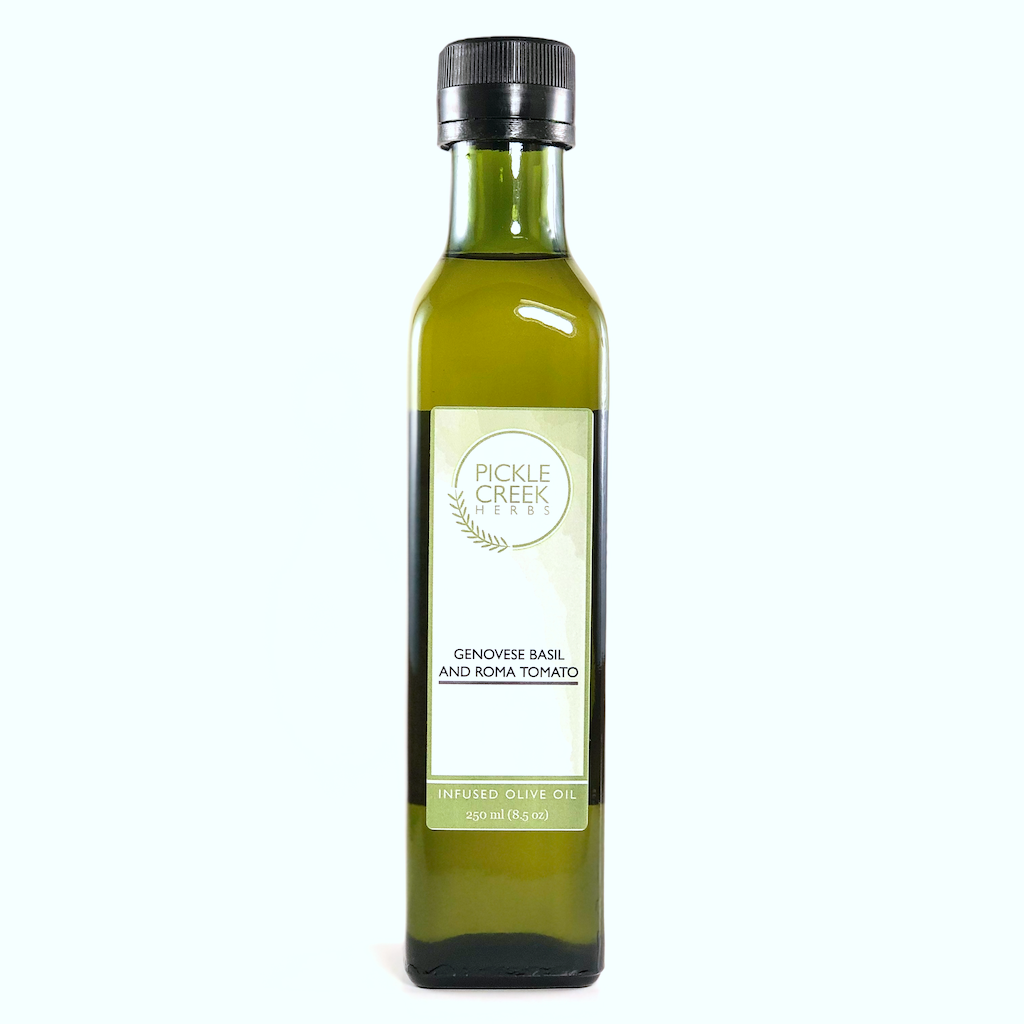 Pickle Creek - Genovese Basil and Roma Tomato Infused Olive Oil