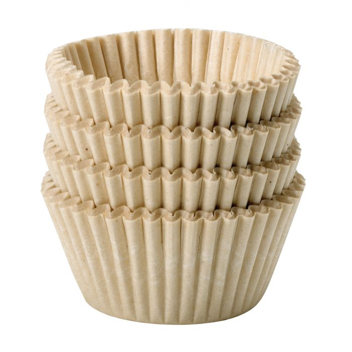 Baking Cups, Unbleached - Mini