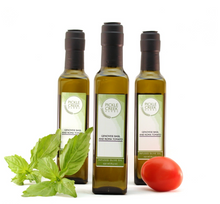 Load image into Gallery viewer, Pickle Creek - Genovese Basil and Roma Tomato Infused Olive Oil