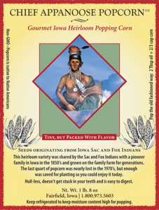 Chief Appanoose Popcorn