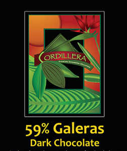 Cordillera 59% Galeras Bittersweet Chocolate - Bag of 20