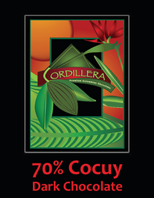 Cordillera 70% Cocuy Extra Bitter Chocolate - Bag of 20