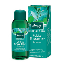 Load image into Gallery viewer, Kneipp Bath Oil -  Cold and Sinus Relief Euclyptus