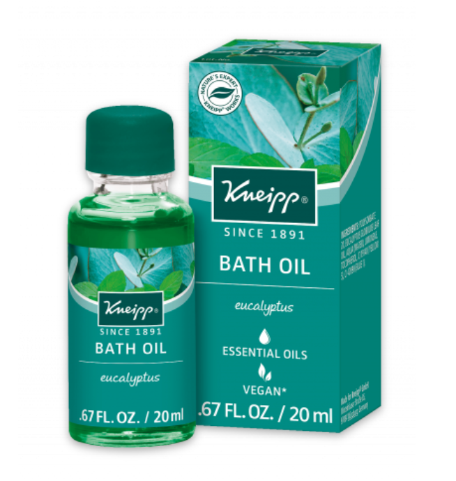 Kneipp Bath Oil -  Cold and Sinus Relief Euclyptus