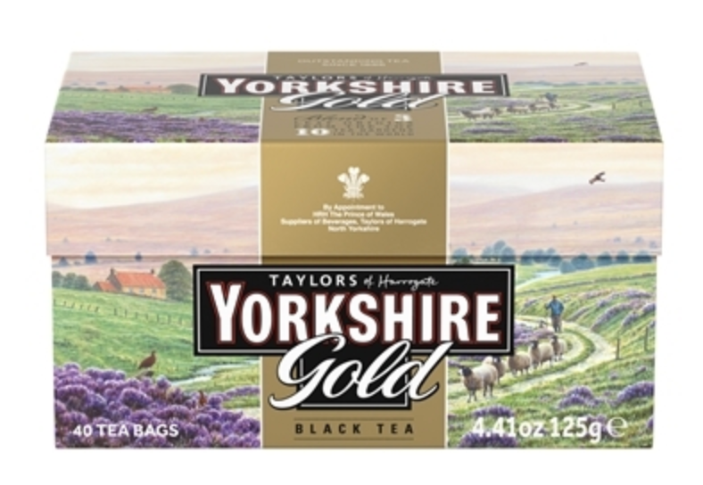 Yorkshire Gold Tea - 40 Tea Bags
